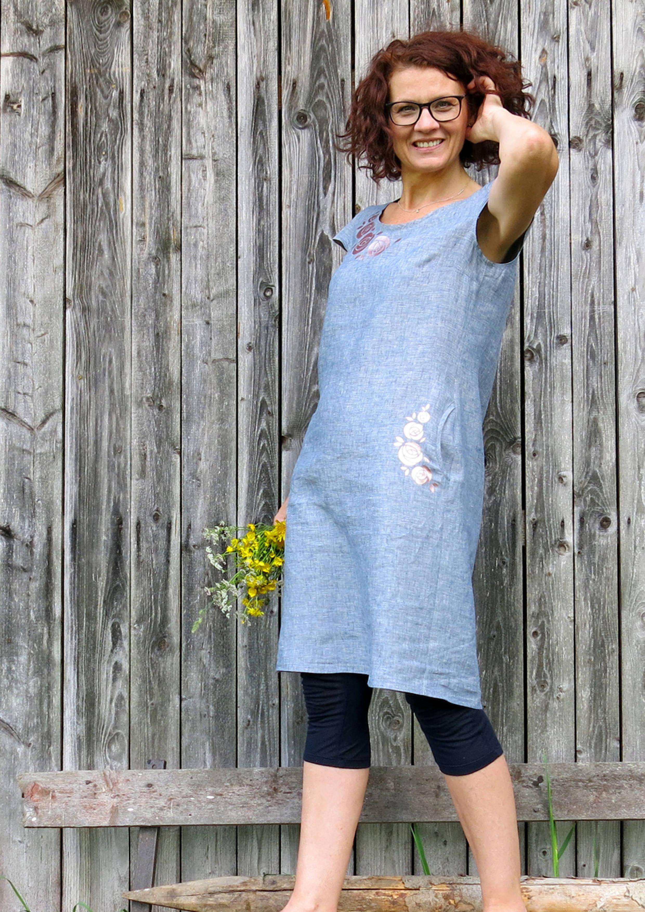 papierschnittmuster kleid ibella gr. 46-52 - freuleins