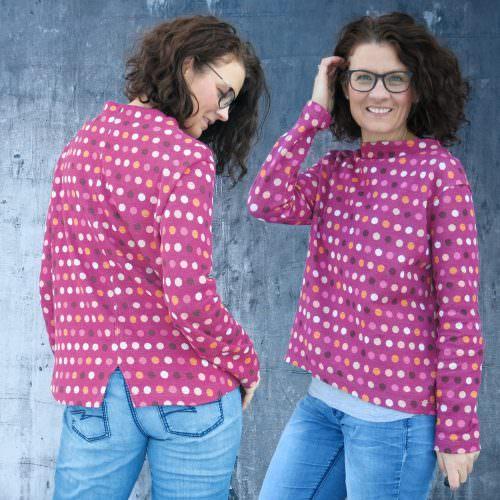 Turtleneck-Shirt paola Naehanleitung