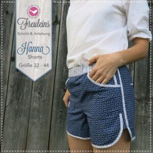 Shorts Hanna in Gr. 34-44 - Schnittmuster und Nähanleitung