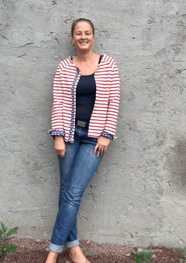 Jäckchen Raglan Betty in Gr. 34-52 - Schnittmuster als Download ✂️