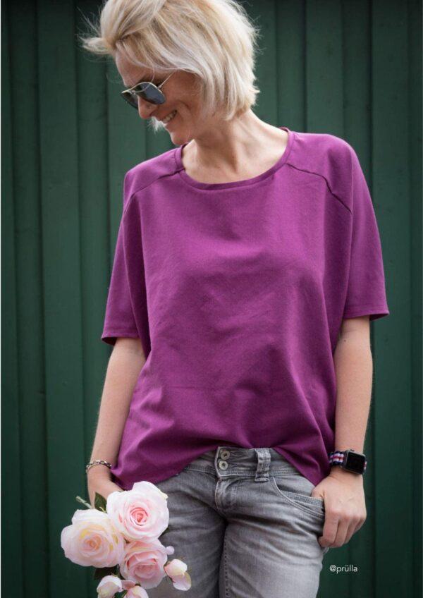 Shirt Jolanda in Gr. S-XL - Schnittmuster und Nähanleitung