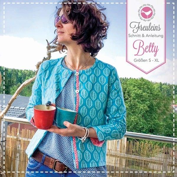 Bluse Alma + Jacke Betty - Schnittmuster und Nähanleitung