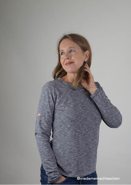 Basic-Shirt - Schnittmuster