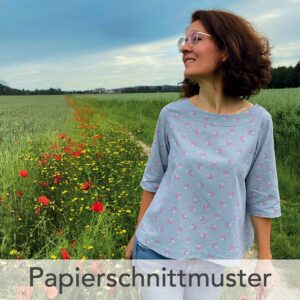 Bluse Lissi - Papierschnittmuster