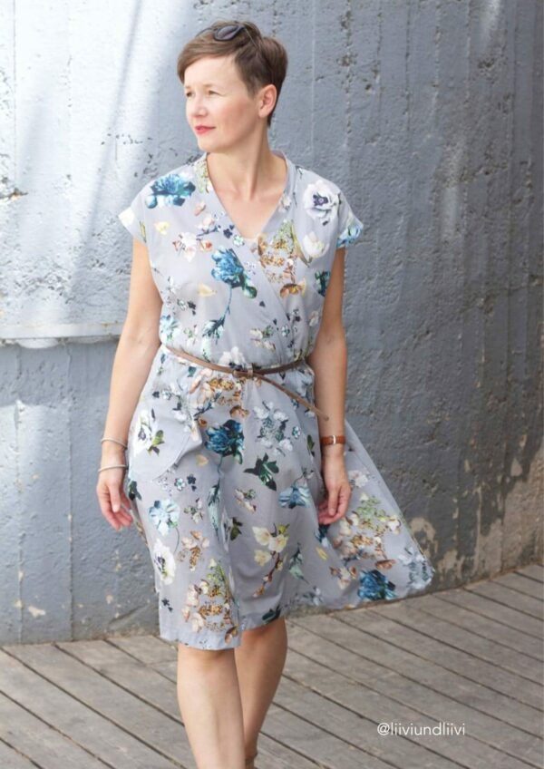 Kleid Katrein Gr. 34-50 - Papierschnittmuster