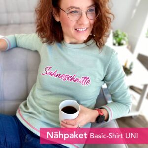 Nähpaket-Basic-Shirt-Uni-Sahneschnitte