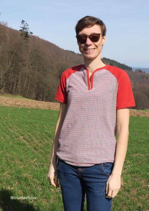 Shirt Yoseffa Gr. 34-52 - Schnittmuster und Nähanleitung