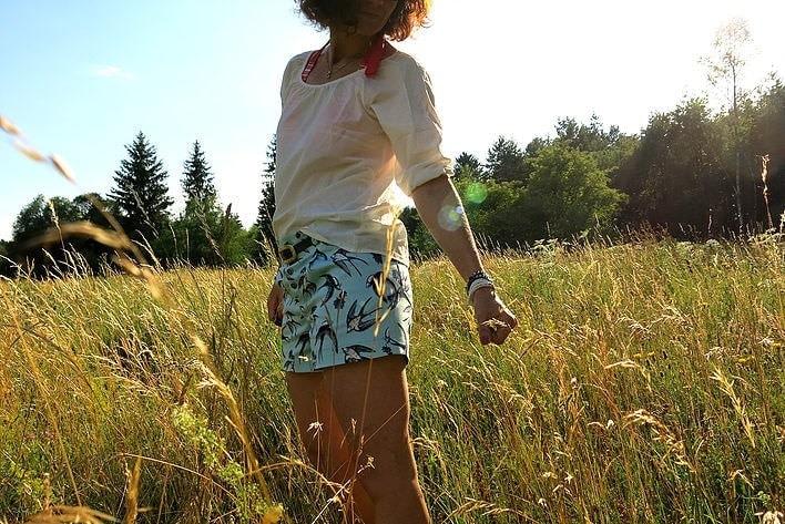 Shorts für den Urlaub