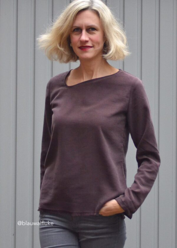 Shirt schräge Olga Gr. 34-50