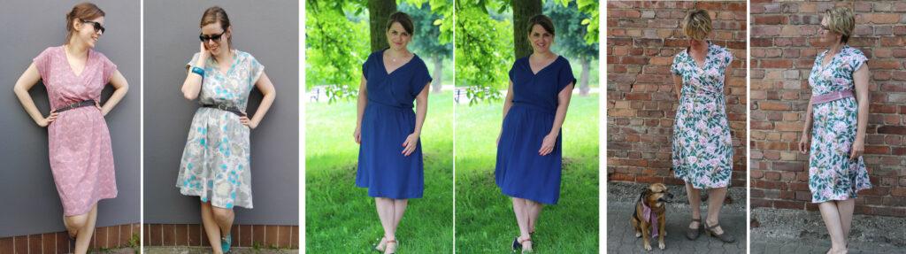 Schnittmuster Kleid Katrein