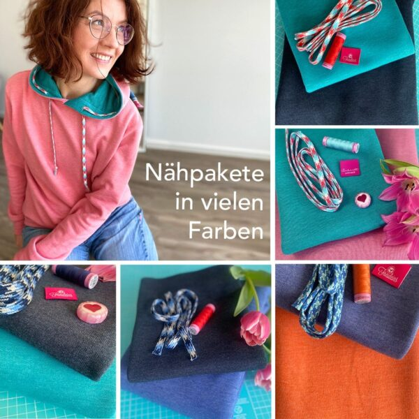 Nähpaket hoodie for two Cover