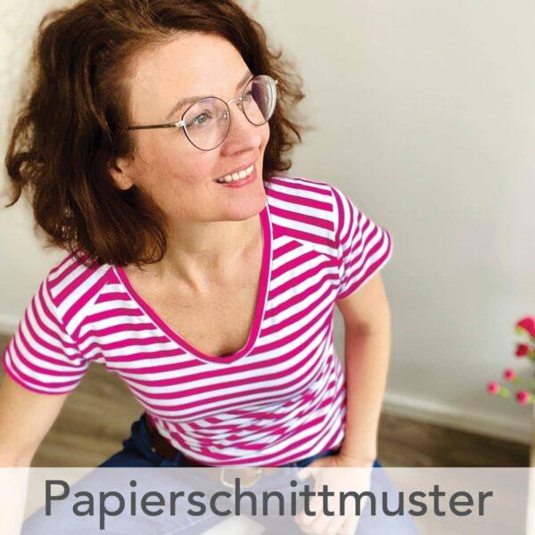 Basic-Shirt 2 - Papierschnittmuster