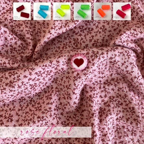 Nähpaket Musselin-Tuch XXL floral